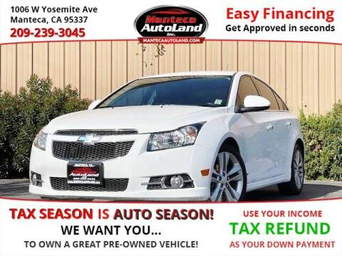 2014 Chevrolet Cruze for sale at Manteca Auto Land in Manteca CA