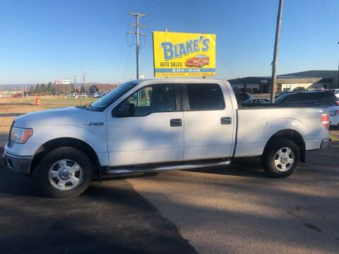 2012 Ford F-150 for sale at Blake's Auto Sales in Rice Lake WI