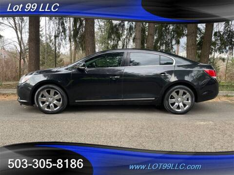 2012 Buick LaCrosse for sale at LOT 99 LLC in Milwaukie OR