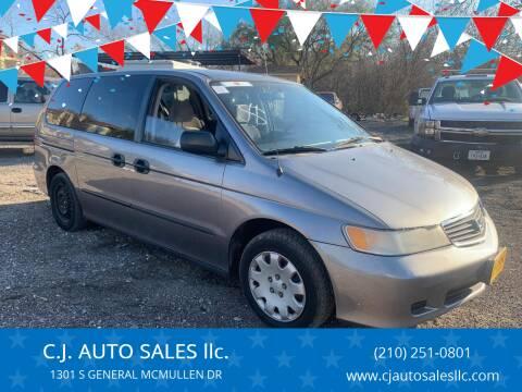 2000 Honda Odyssey for sale at C.J. AUTO SALES llc. in San Antonio TX