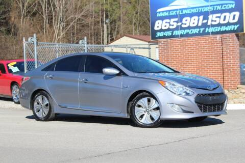 2015 Hyundai Sonata Hybrid for sale at Skyline Motors in Louisville TN