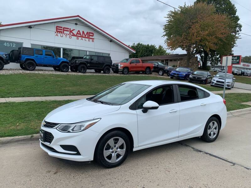 2017 Chevrolet Cruze for sale at Efkamp Auto Sales LLC in Des Moines IA