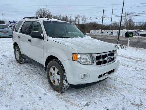 2012 Ford Escape for sale at ARG Auto Sales in Jackson MI