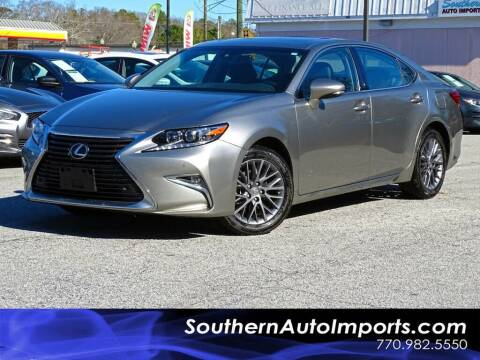 2018 Lexus ES 350 for sale at Used Imports Auto - Southern Auto Imports in Stone Mountain GA