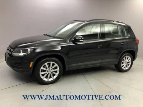 2017 Volkswagen Tiguan for sale at J & M Automotive in Naugatuck CT