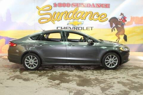 2017 Ford Fusion for sale at Sundance Chevrolet in Grand Ledge MI