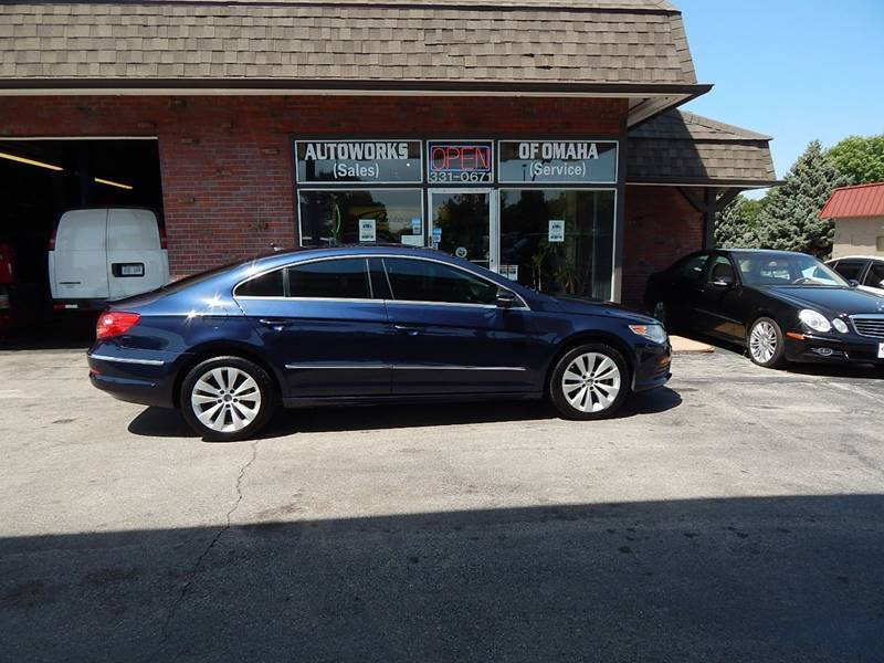 2012 Volkswagen CC for sale at AUTOWORKS OF OMAHA INC in Omaha NE