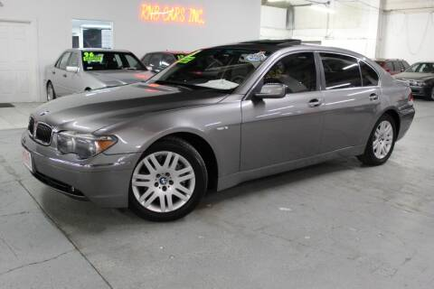 2003 BMW 7 Series for sale at R n B Cars Inc. in Denver CO