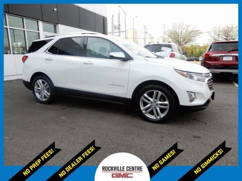 2018 Chevrolet Equinox for sale at Rockville Centre GMC in Rockville Centre NY