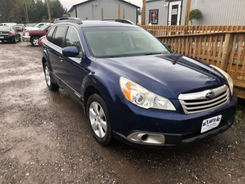 2010 Subaru Outback for sale at Al's Auto Inc. in Bruce Crossing MI