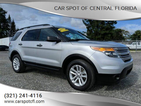 2015 Ford Explorer for sale at Car Spot Of Central Florida in Melbourne FL