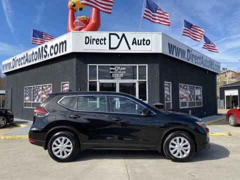 2019 Nissan Rogue for sale at Direct Auto in D'Iberville MS