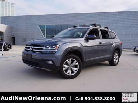 2018 Volkswagen Atlas for sale at Metairie Preowned Superstore in Metairie LA