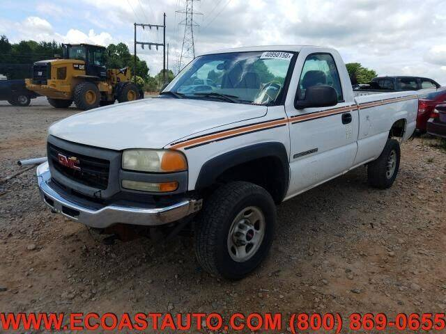 2004 GMC Sierra 2500HD for sale at East Coast Auto Source Inc. in Bedford VA