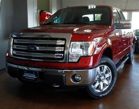 2013 Ford F-150 for sale at Motion Auto Sport in North Canton OH