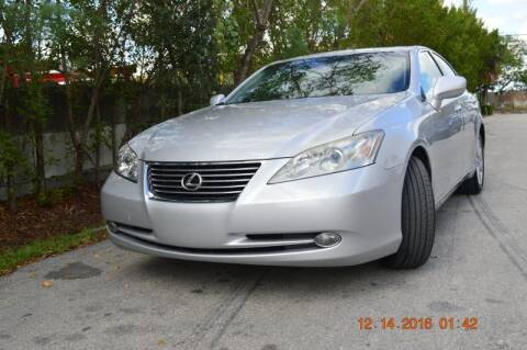 2007 Lexus ES 350 for sale at Zak Motor Group in Deerfield Beach FL
