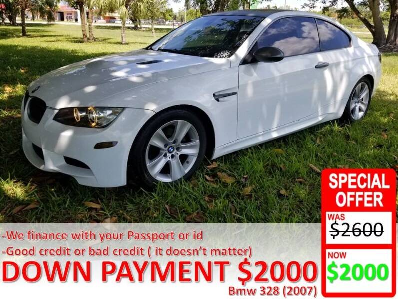 2007 BMW 3 Series for sale at AUTO COLLECTION OF SOUTH MIAMI in Miami FL