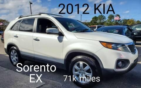 2012 Kia Sorento for sale at Rodgers Enterprises in North Charleston SC