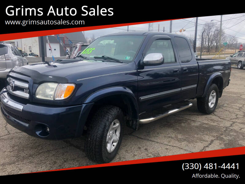 2003 Toyota Tundra for sale at Grims Auto Sales in North Lawrence OH