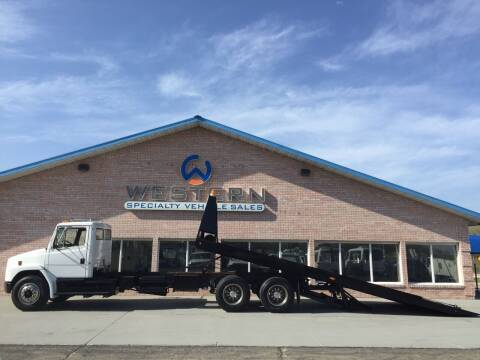 2001 Freightliner T/A Rollback for sale at Western Specialty Vehicle Sales in Braidwood IL