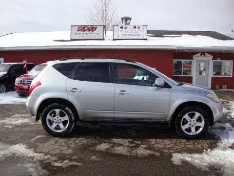2005 Nissan Murano for sale at G and G AUTO SALES in Merrill WI