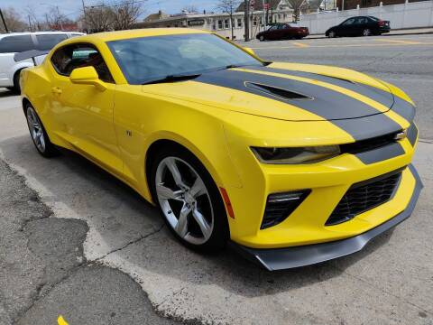 2018 Chevrolet Camaro for sale at LIBERTY AUTOLAND INC in Jamaica NY