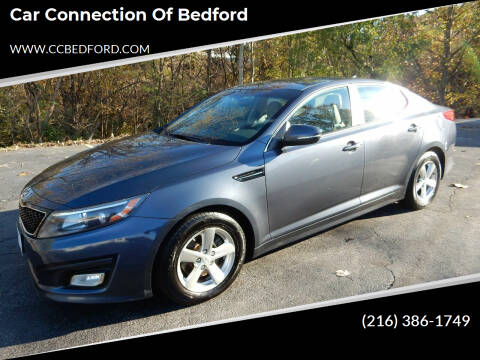 2015 Kia Optima for sale at Car Connection of Bedford in Bedford OH