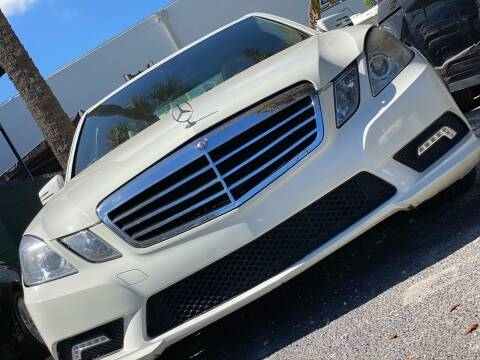 2011 Mercedes-Benz E-Class for sale at HIGH PERFORMANCE MOTORS in Hollywood FL