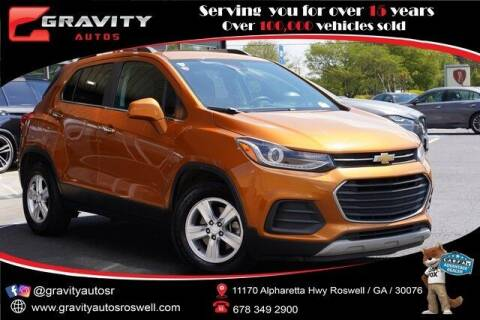 2017 Chevrolet Trax for sale at Gravity Autos Roswell in Roswell GA
