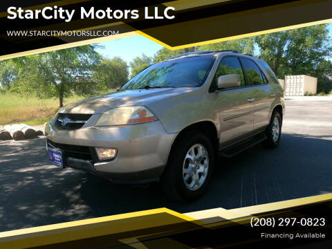 2002 Acura MDX for sale at StarCity Motors LLC in Garden City ID