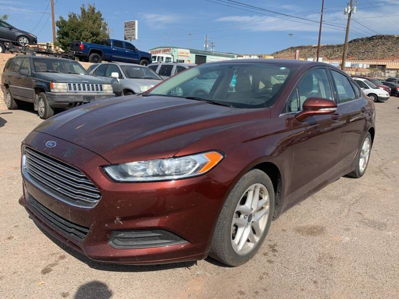 2016 Ford Fusion for sale at Car Works in Saint George UT