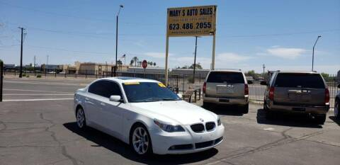 2005 BMW 5 Series for sale at Marys Auto Sales in Phoenix AZ