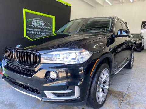 2016 BMW X5 for sale at GCR MOTORSPORTS in Hollywood FL
