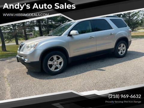2007 GMC Acadia for sale at Andy's Auto Sales in Hibbing MN