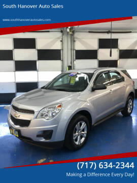 2015 Chevrolet Equinox for sale at South Hanover Auto Sales in Hanover PA