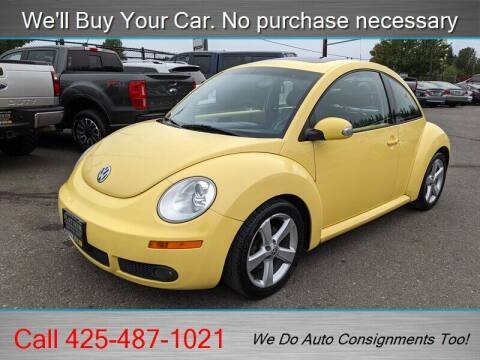 2006 Volkswagen New Beetle for sale at Platinum Autos in Woodinville WA