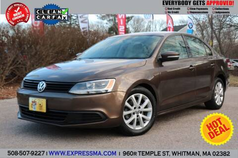 2011 Volkswagen Jetta for sale at Auto Sales Express in Whitman MA
