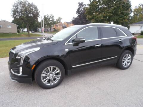 2021 Cadillac XT5 for sale at A-Auto Luxury Motorsports in Milwaukee WI