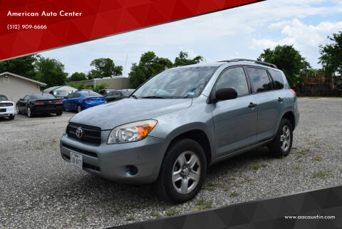 2008 Toyota RAV4 for sale at American Auto Center in Austin TX