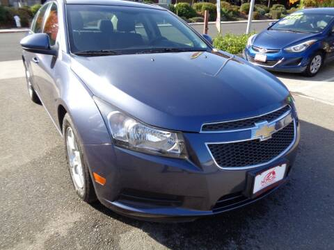 2014 Chevrolet Cruze for sale at NorCal Auto Mart in Vacaville CA