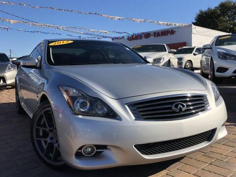 2014 Infiniti Q60 Coupe for sale at Cars of Tampa in Tampa FL