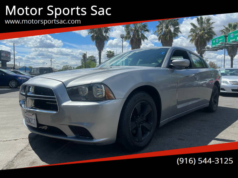 2014 Dodge Charger for sale at Motor Sports Sac in Sacramento CA