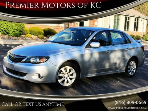2009 Subaru Impreza for sale at Premier Motors of KC in Kansas City MO