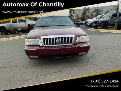 2007 Mercury Grand Marquis for sale at Automax of Chantilly in Chantilly VA