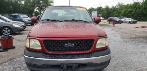 2002 Ford F-150 for sale at Anthony's Auto Sales of Texas, LLC in La Porte TX