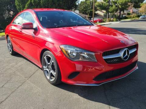 2018 Mercedes-Benz CLA for sale at CAR CITY SALES in La Crescenta CA