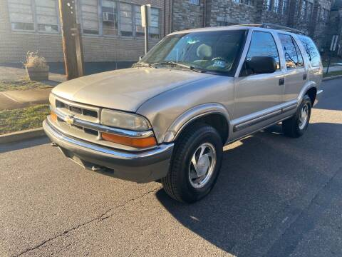 2001 Chevrolet Blazer for sale at Michaels Used Cars Inc. in East Lansdowne PA