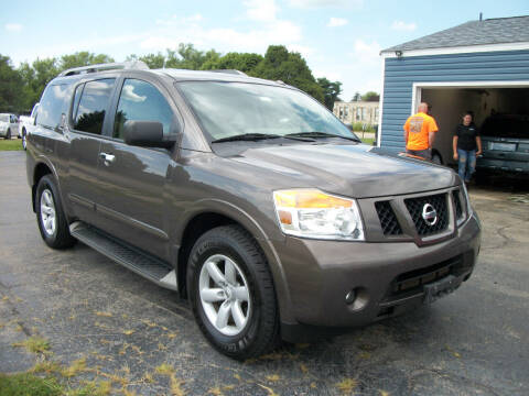 2013 Nissan Armada for sale at USED CAR FACTORY in Janesville WI