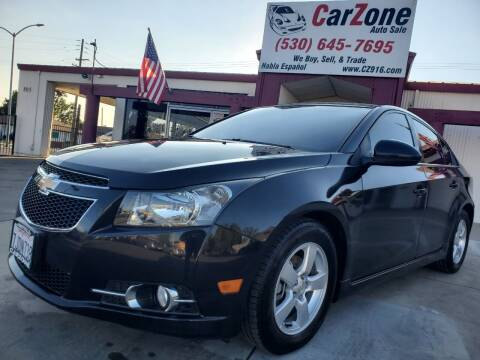 2014 Chevrolet Cruze for sale at CarZone in Marysville CA