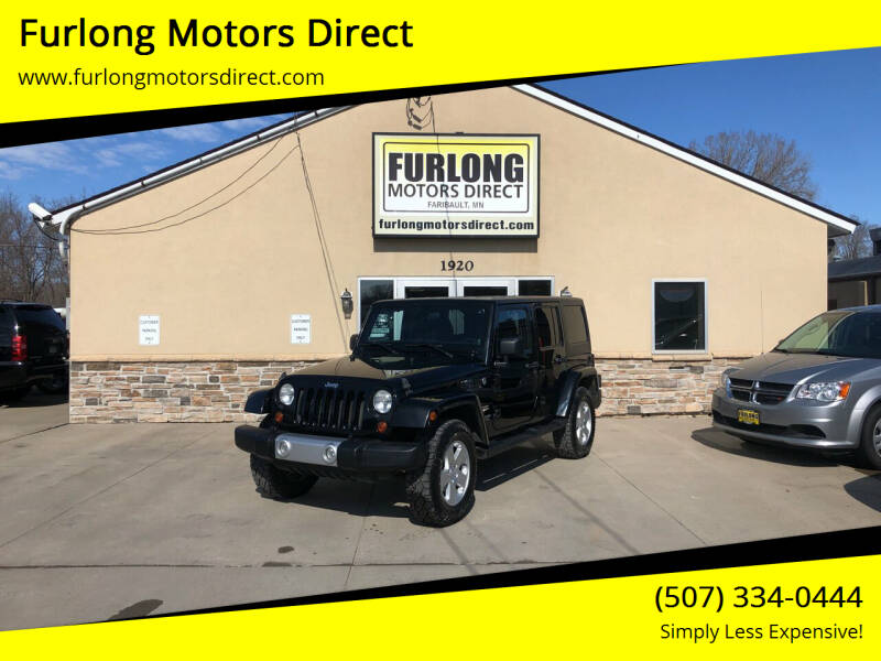 2012 Jeep Wrangler Unlimited for sale at Furlong Motors Direct in Faribault MN